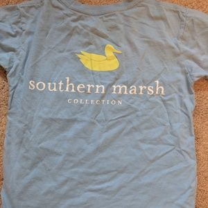 Southern marsh kids shirt